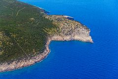 Adriatic landscape - Island Losinj Royalty Free Stock Images