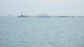adriatic latarnia morska Zdjęcia Royalty Free