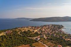 Adriatic liggande Royaltyfria Foton