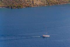 Adriatic liggande Arkivbild