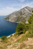Adriatic Littoral in Croatia Royalty Free Stock Photo