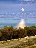 Adriatic Moon Royalty Free Stock Images