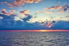 adriatic morza zmierzch Zdjęcie Royalty Free
