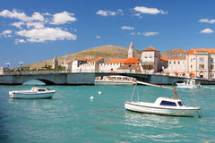 Adriatic Old Town Stock Photography