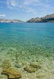 adriatic plaży morza Obrazy Stock
