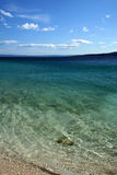 adriatic plaży morza brela Zdjęcia Stock