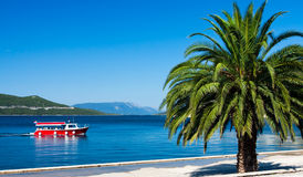 Adriatic recreation in summer Royalty Free Stock Photography