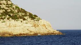 Adriatic rocky shores Stock Photos