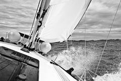 Adriatic sailing Royalty Free Stock Photography