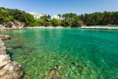 Adriatic sea bay Royalty Free Stock Photography