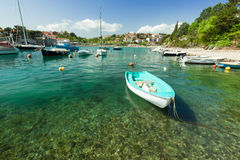 Adriatic sea bay Stock Photography