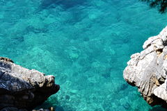 Adriatic sea. Beautiful Adriatic sea for perfect relax Stock Image