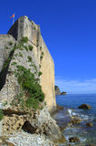 Adriatic sea citadel,Budva,Montenegro Royalty Free Stock Photography