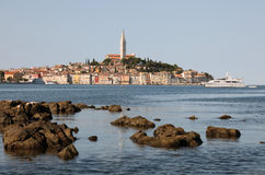 Adriatic Sea coast at Rovinj Royalty Free Stock Photos