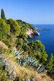 Adriatic Sea Coastline Stock Photography