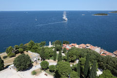 Adriatic Sea, Croatia Stock Photos
