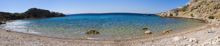 Adriatic Sea. Croatia. Istria. Krk Stock Images