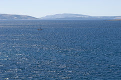 Adriatic Sea. Croatia. Istria. Krk Royalty Free Stock Photos