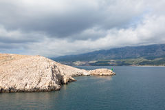 Adriatic Sea in Croatia Stock Images
