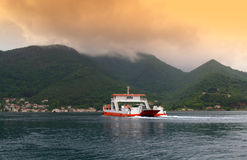 Adriatic Sea ferry Royalty Free Stock Image