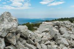 Adriatic Sea, Losinj Island, Croatia. Photo of Adriatic Sea, Losinj Island, Croatia Royalty Free Stock Photo
