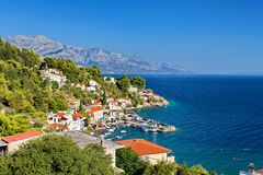 Adriatic sea - Makarska Riviera Dalmatia Croatia Royalty Free Stock Photography
