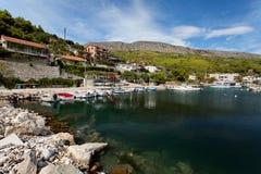 Adriatic sea - Makarska Riviera nearby Makarska, Croatia Royalty Free Stock Photo