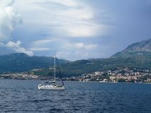Adriatic sea, Montenegro Royalty Free Stock Photos