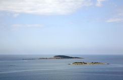 Adriatic Sea near Plat.  Dalmatia. Croatia Stock Image