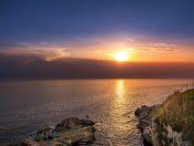 Adriatic Sea near Rovinj, Istria, Croatia. View of the Adriatic Sea near Rovinj, Adriatic, Istria, Croatia, Europe royalty free stock photo