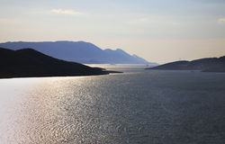 Adriatic sea in Neum. Bosnia and Herzegovina Stock Photos