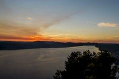 Adriatic Sea, north of Zadar, Croatia Royalty Free Stock Images