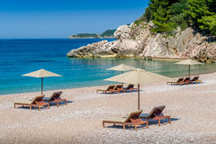 Adriatic sea paradise bay Royalty Free Stock Photo