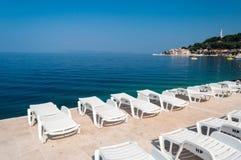 Adriatic sea at Podgora in Croatia Royalty Free Stock Photos