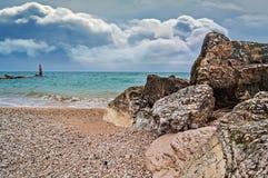Adriatic sea scenery Royalty Free Stock Images