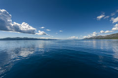 Adriatic sea seascape Royalty Free Stock Photo
