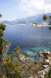 Adriatic Sea shore. Montenegro Royalty Free Stock Photos