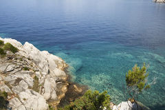 Adriatic Sea shore. Montenegro Royalty Free Stock Photography