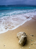 Adriatic Sea. View of Adriatic Sea in Baska Voda Royalty Free Stock Image