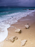 Adriatic Sea. View of Adriatic Sea in Baska Voda Royalty Free Stock Photos
