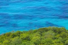 Adriatic seacoast in Budvan Riviera, Montenegro Stock Photos