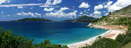 Adriatic seacoast, Montenegro Royalty Free Stock Photo