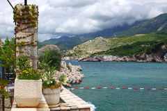 Adriatic seacoast, Montenegro Stock Images