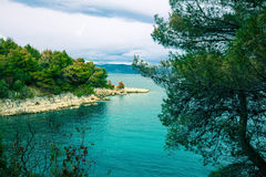 Adriatic seaside Royalty Free Stock Photography