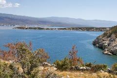 Adriatic Siloby Royaltyfria Foton
