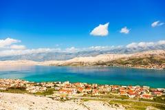 adriatic strand Arkivbilder
