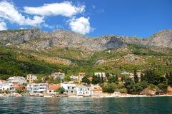 adriatic strand croatia Arkivfoto