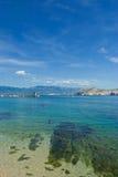 adriatic strandhav Fotografering för Bildbyråer
