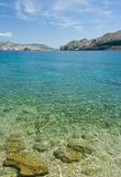 adriatic strandhav Arkivbilder