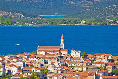 Adriatic town of Betina view Stock Photo